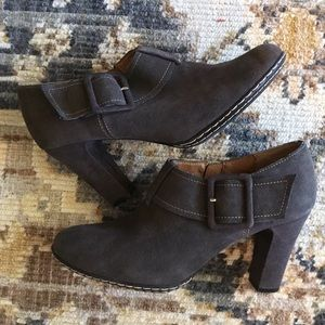 Sofft Leather Ankle Boots